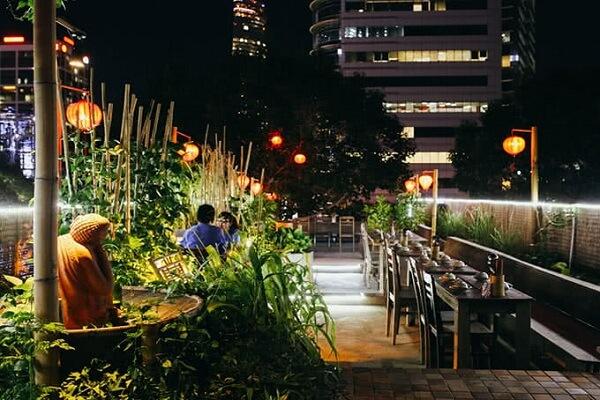 Quán ăn lãng mạn cho hai người ở Sài Gòn